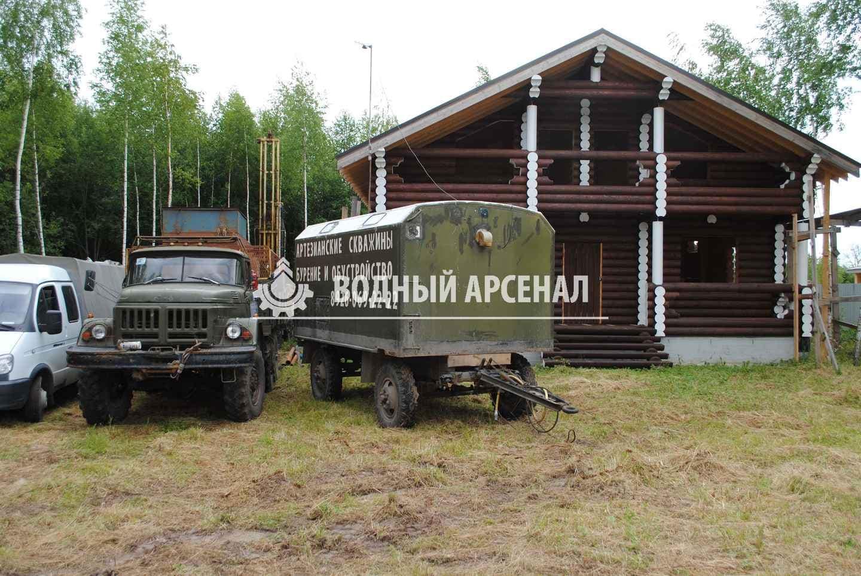 Бурение скважины в Раменском районе, КП Софьино-2 фото 1