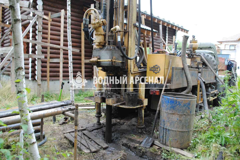 Бурение скважины в Раменском районе, КП Софьино-2 фото 2