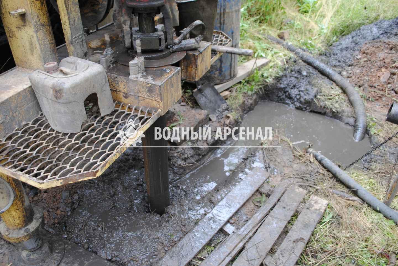 Бурение скважины в Раменском районе, КП Софьино-2 фото 3