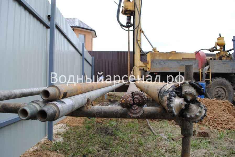 Бурение скважины в Домодедовском районе, микрорайон Востряково фото 1
