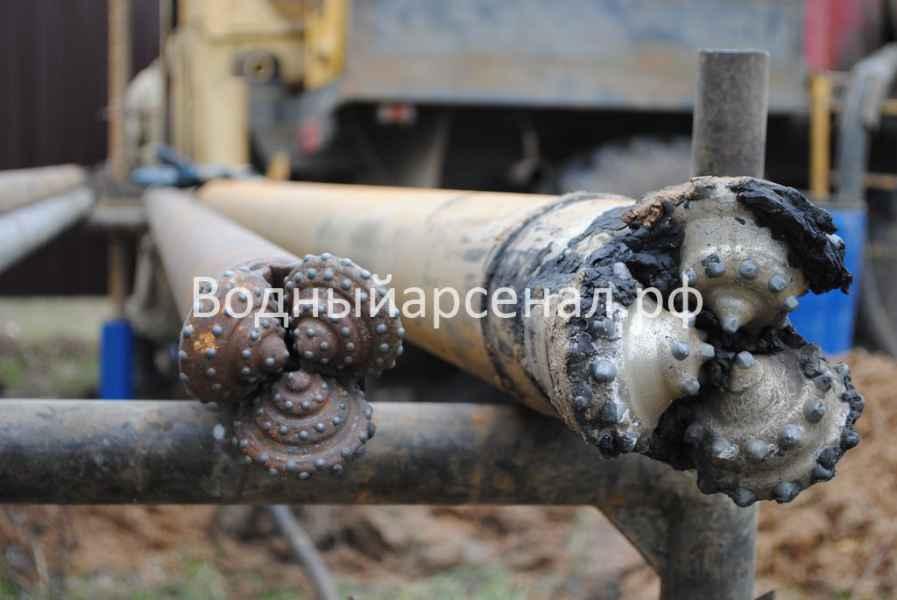 Бурение скважины в Домодедовском районе, микрорайон Востряково фото 2