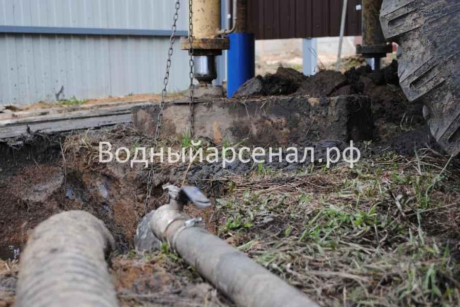 Бурение скважины в Домодедовском районе, микрорайон Востряково фото 3