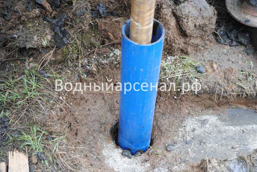 Бурение скважины в Домодедовском районе, микрорайон Востряково фото 5