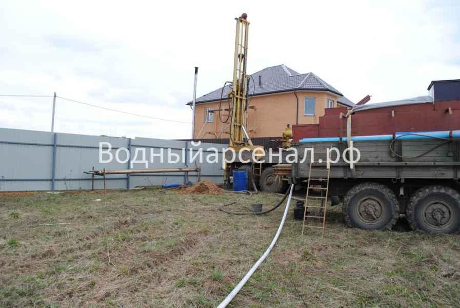 Бурение скважины в Домодедовском районе, микрорайон Востряково фото 7