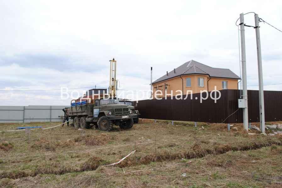 Бурение скважины в Домодедовском районе, микрорайон Востряково фото 9