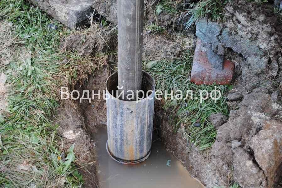Бурение скважины в Ступинском районе, Михнево фото 3