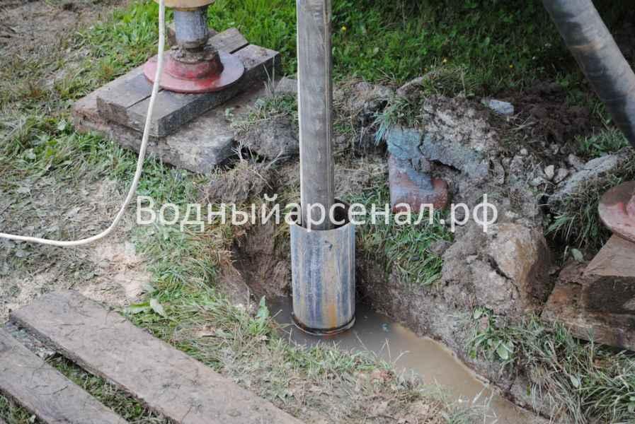 Бурение скважины в Ступинском районе, Михнево фото 4
