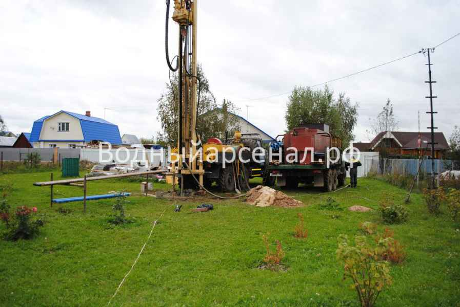 Бурение скважины в Ступинском районе, Михнево фото 6