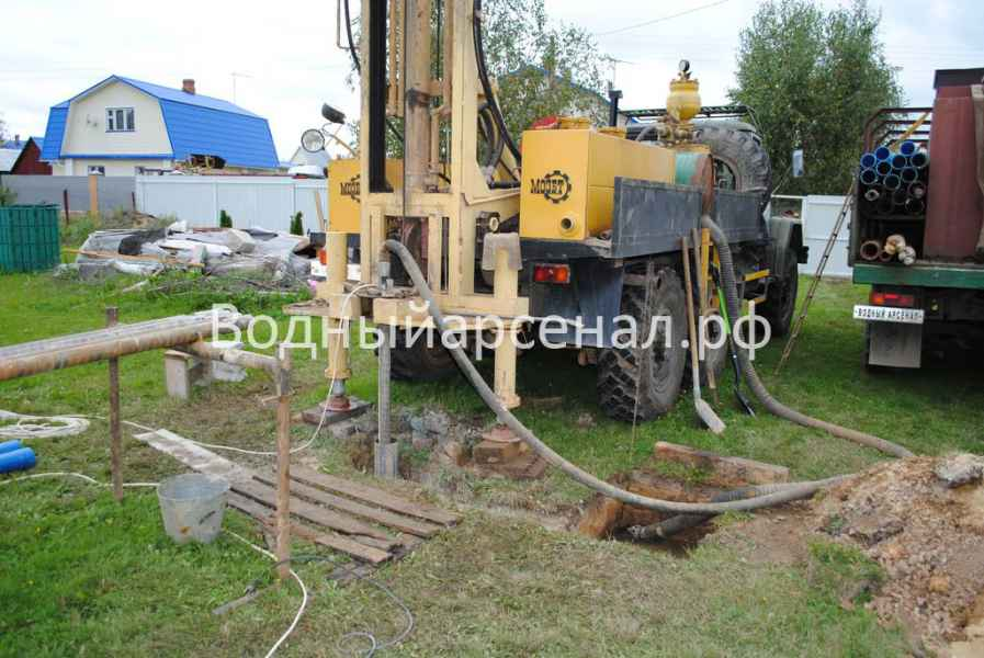 Бурение скважины в Ступинском районе, Михнево фото 5