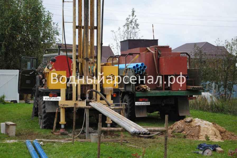 Бурение скважины в Ступинском районе, Михнево фото 7
