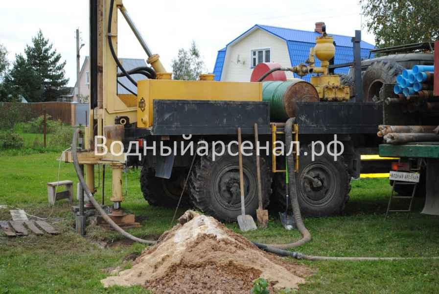 Бурение скважины в Ступинском районе, Михнево фото 2