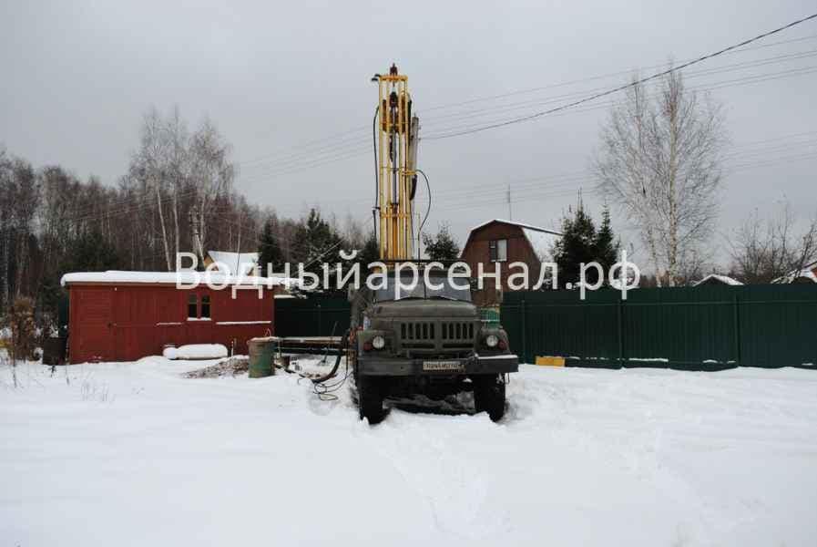 Бурение скважины в Ступинском районе, село Хатунь фото 6