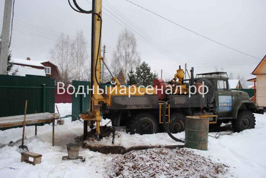 Бурение скважины в Ступинском районе, село Хатунь фото 5