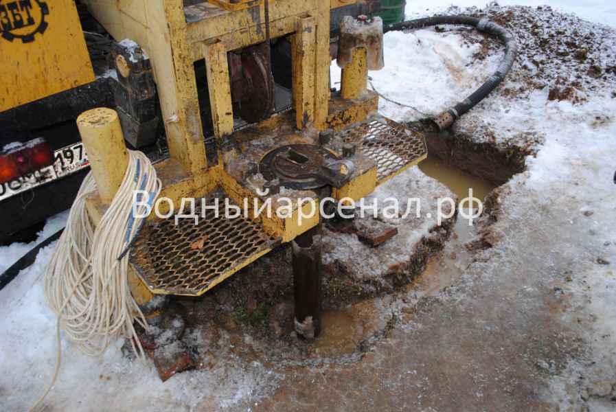 Бурение скважины в Ступинском районе, село Хатунь фото 4