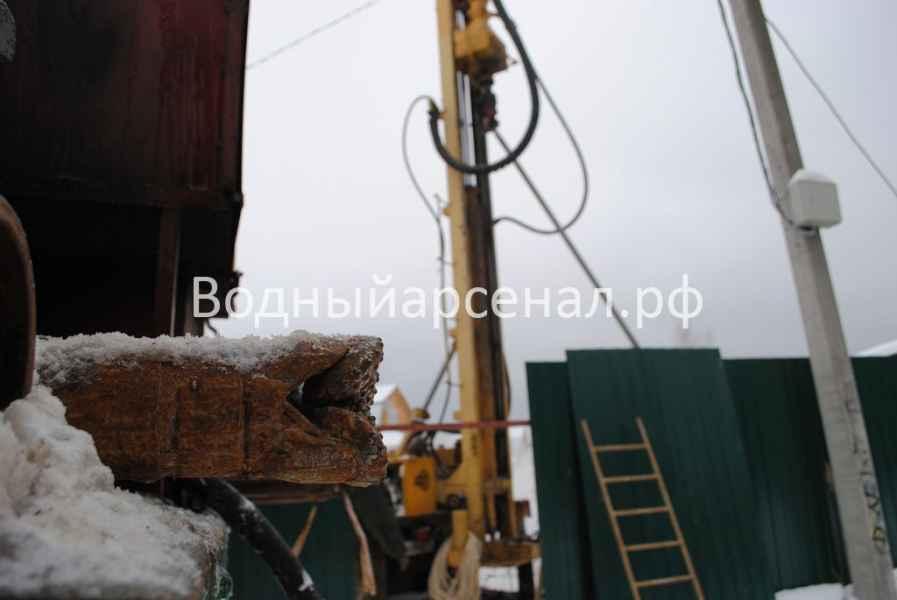 Бурение скважины в Ступинском районе, село Хатунь фото 2