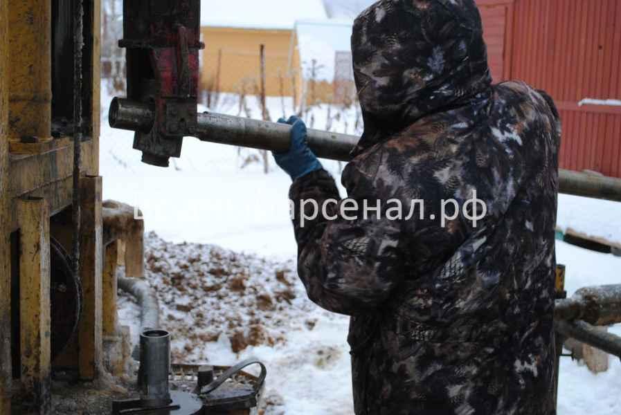 Бурение скважины в Ступинском районе, село Хатунь фото 1