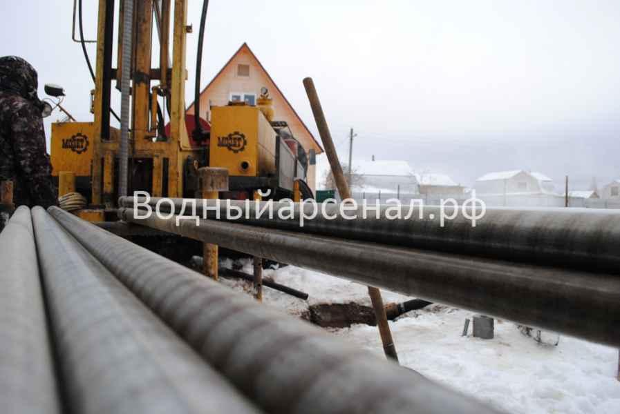 Бурение скважины в Ступинском районе, село Хатунь фото 7