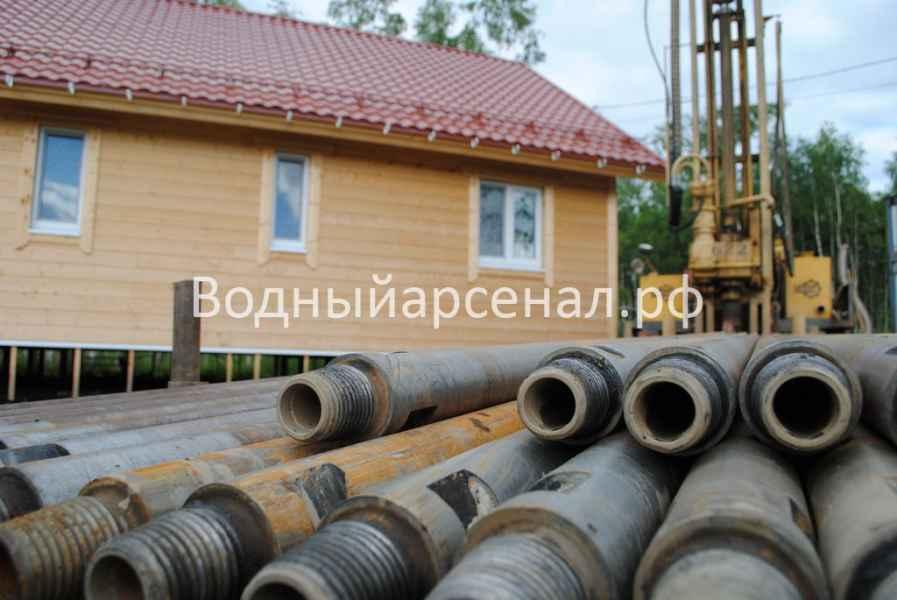 Бурение скважины в Сергиево-Посадском районе, деревня Путятино фото 3