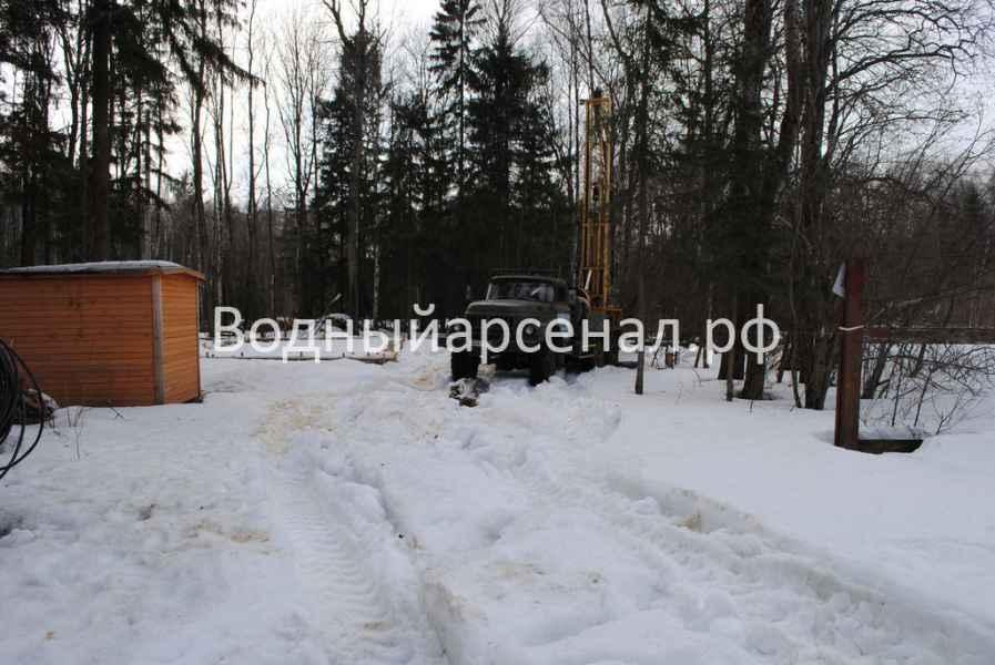 Бурение скважины в Солнечногорском районе, КП Кружева фото 8