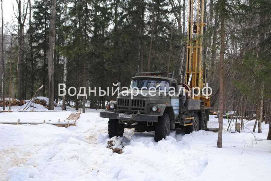 Бурение скважины в Солнечногорском районе, КП Кружева фото 7