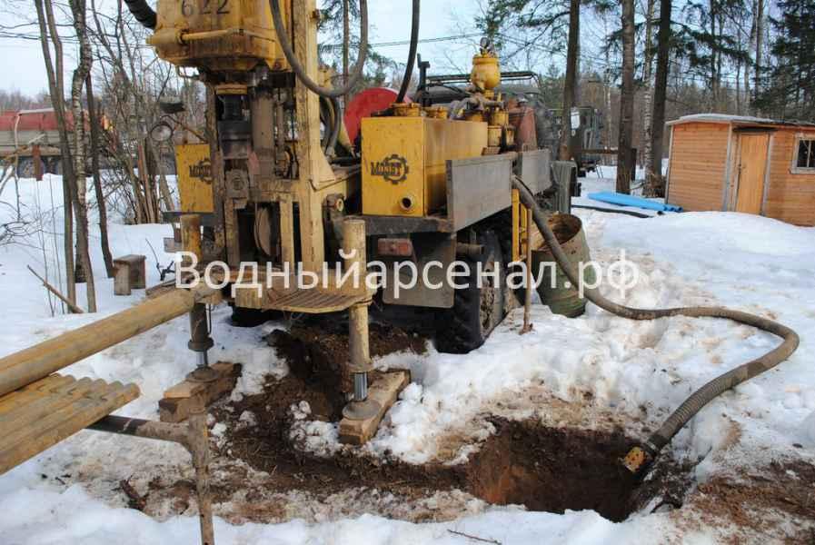 Бурение скважины в Солнечногорском районе, КП Кружева фото 5