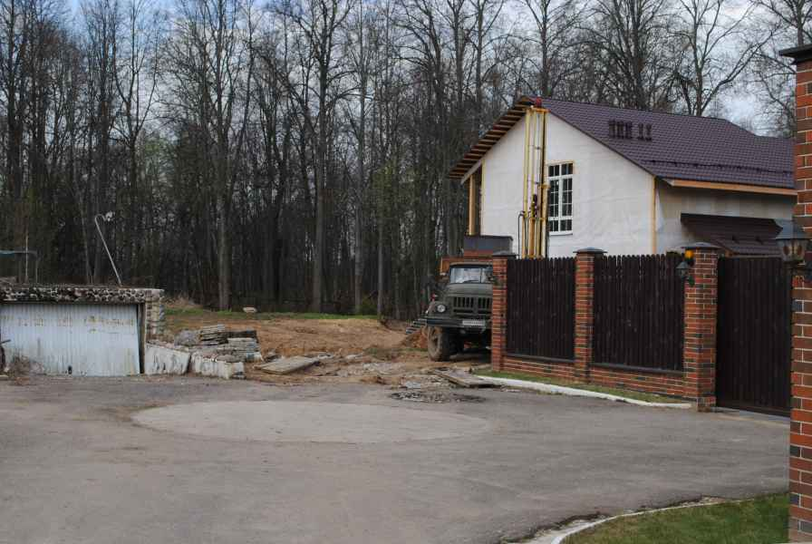 Бурение скважины в Солнечногорском районе, деревня Логиново фото 7