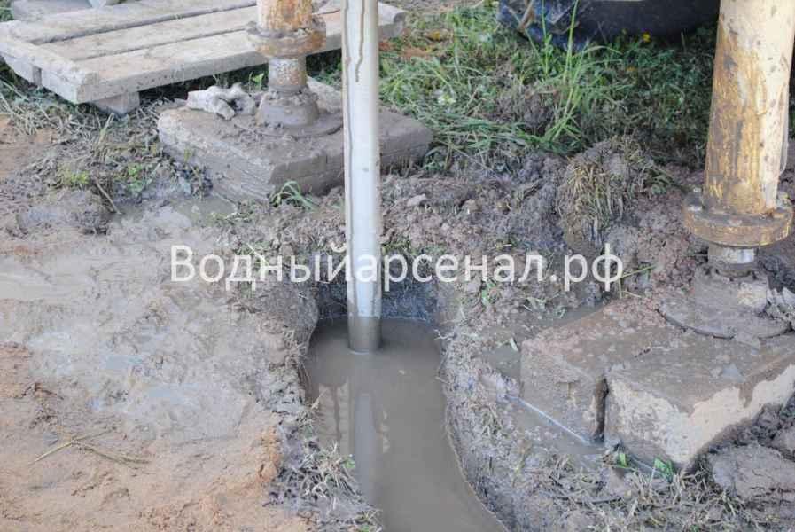 Бурение скважины в Сергиево-Посадском районе, ДНП Дивный фото 2