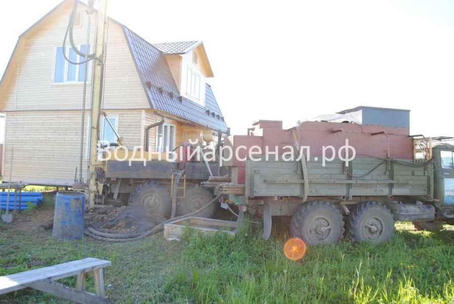 Бурение скважины в Сергиево-Посадском районе, ДНП Дивный фото 6