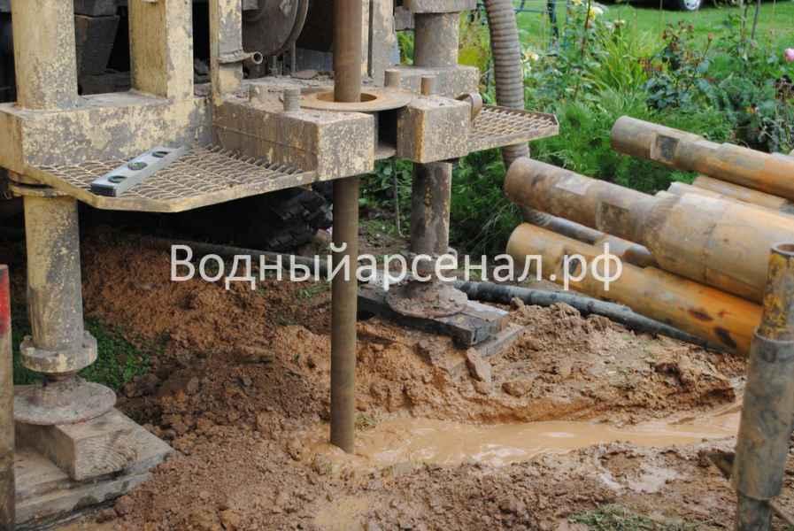 Бурение скважины в Ступинском районе, СНТ Лопасня фото 3