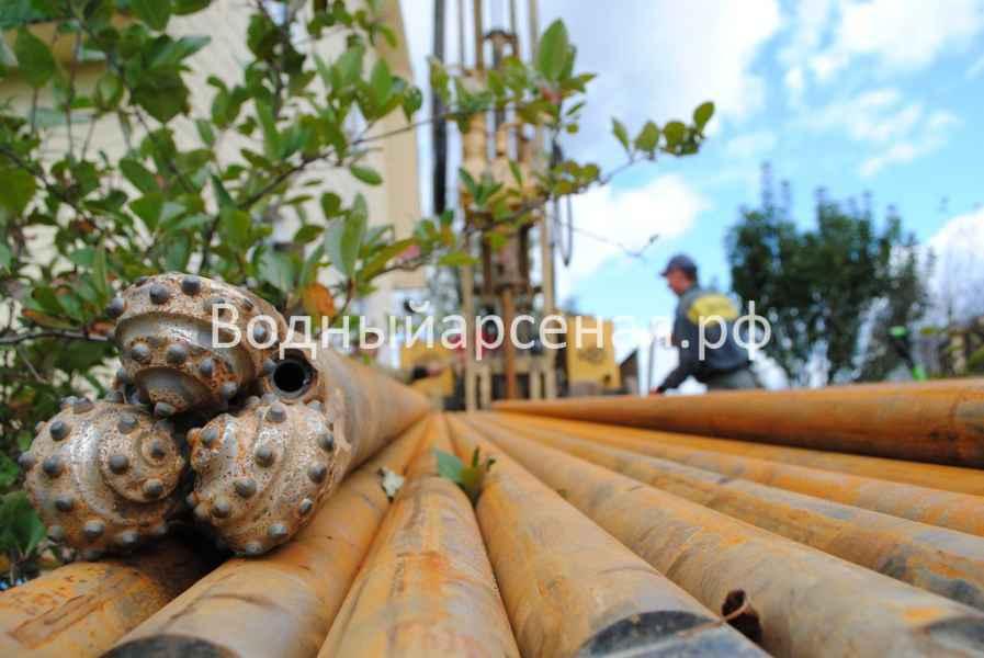 Бурение скважины в Ступинском районе, СНТ Лопасня фото 4