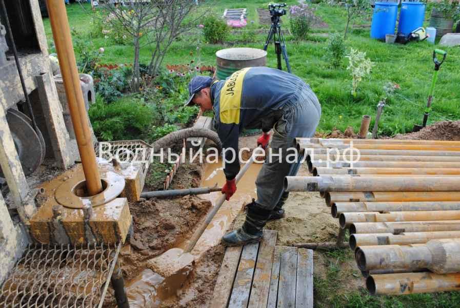 Бурение скважины в Ступинском районе, СНТ Лопасня фото 6