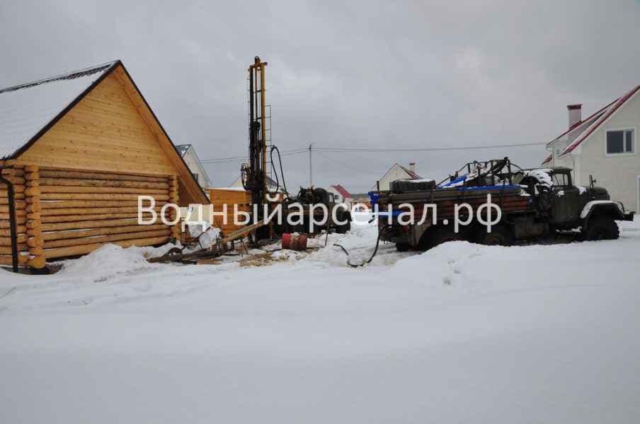 Бурение скважины в Солнечногорском районе, Поварово фото 1