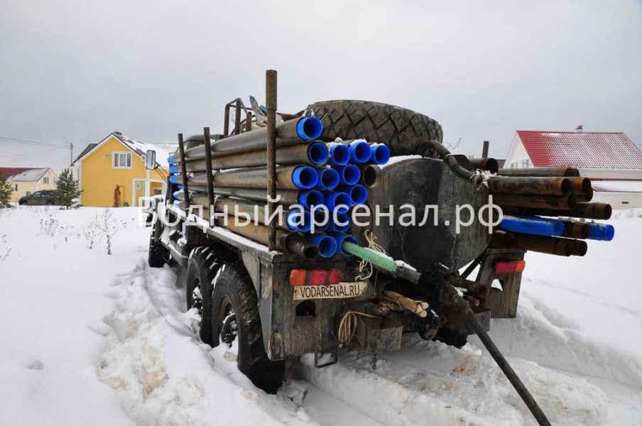 Бурение скважины в Солнечногорском районе, Поварово фото 2