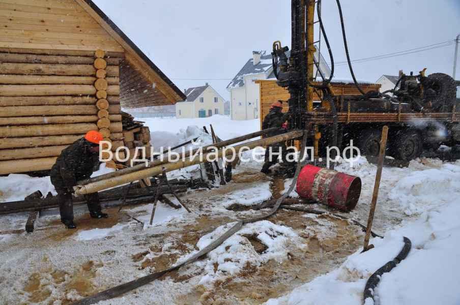 Бурение скважины в Солнечногорском районе, Поварово фото 3