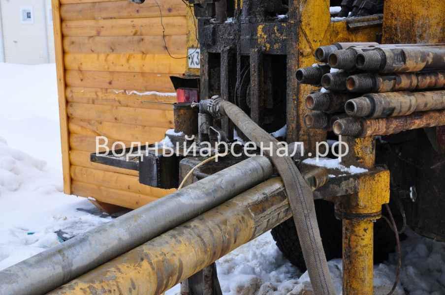 Бурение скважины в Солнечногорском районе, Поварово фото 4