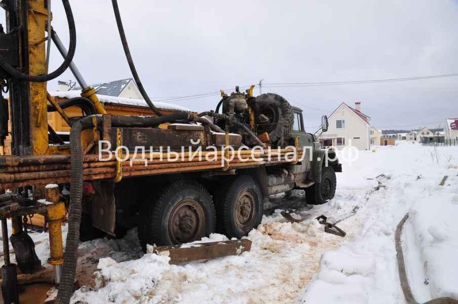 Бурение скважины в Солнечногорском районе, Поварово фото 5
