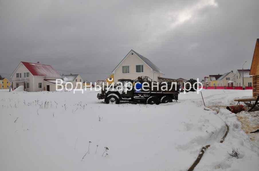 Бурение скважины в Солнечногорском районе, Поварово фото 6