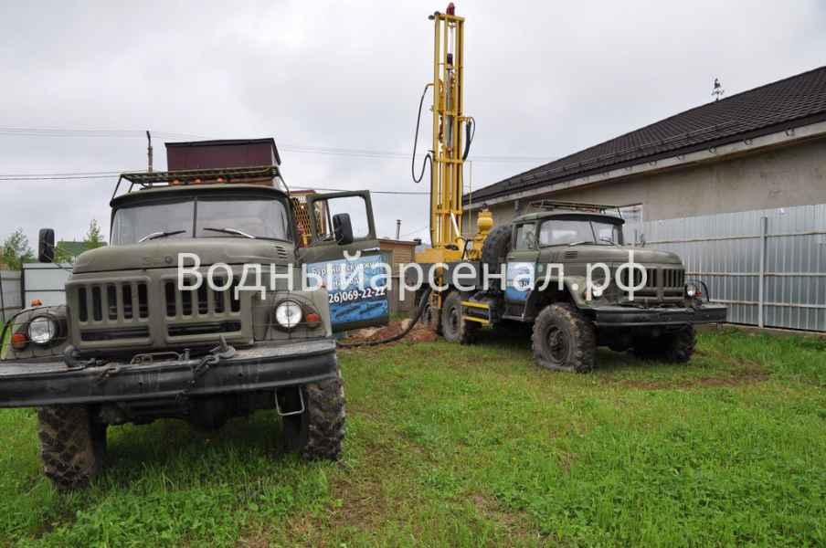 Бурение скважины в Мытищинском районе, Дальние Вёшки фото 4