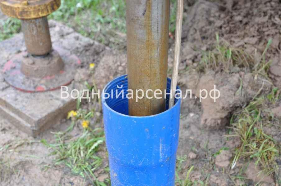 Бурение скважины в Мытищинском районе, Дальние Вёшки фото 5