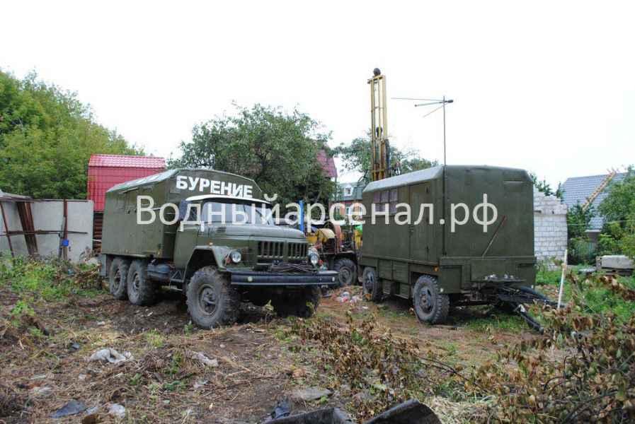Бурение скважины в Люберецком районе Объект №05.09 фото 1