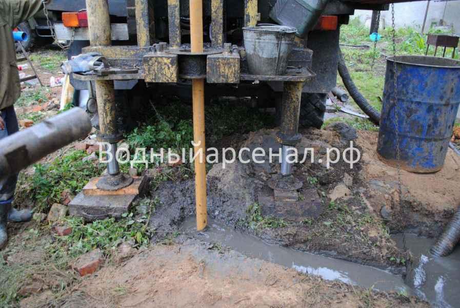 Бурение скважины в Люберецком районе Объект №05.09 фото 3