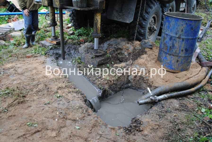 Бурение скважины в Люберецком районе Объект №05.09 фото 4