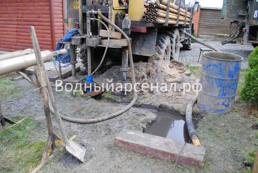 Бурение скважины в Истринском районе, царское село-2 фото 2