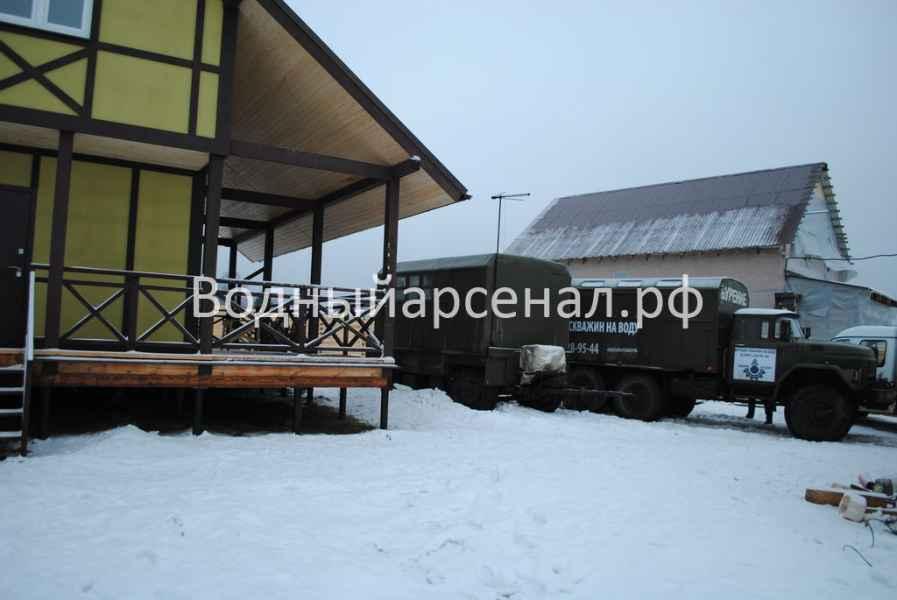 Бурение скважины в Солнечногорском районе, СНТ семейный фото 1