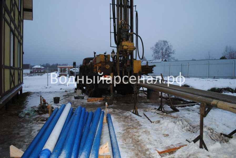Бурение скважины в Солнечногорском районе, СНТ семейный фото 2