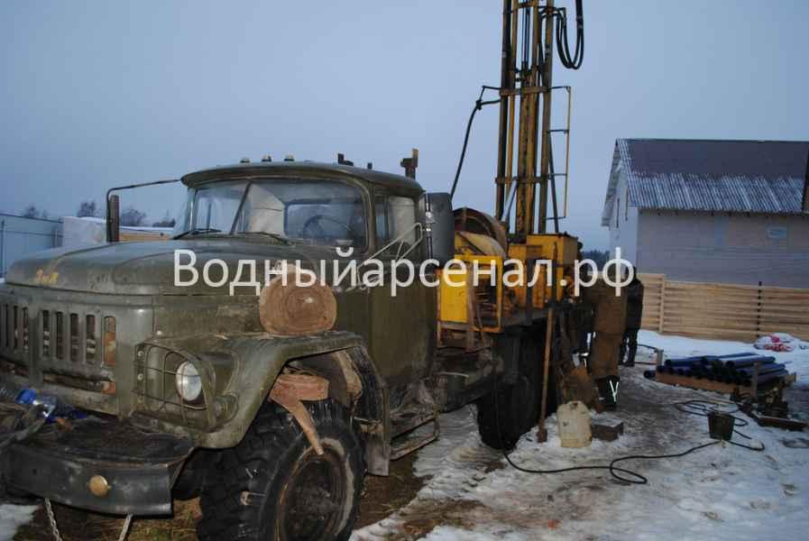 Бурение скважины в Солнечногорском районе, СНТ семейный фото 3