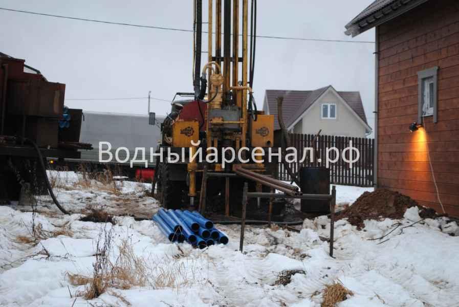 Бурение скважины в Истринском районе, КП Шишаиха фото 3