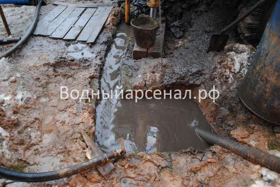Бурение скважины в Истринском районе, КП Шишаиха фото 4