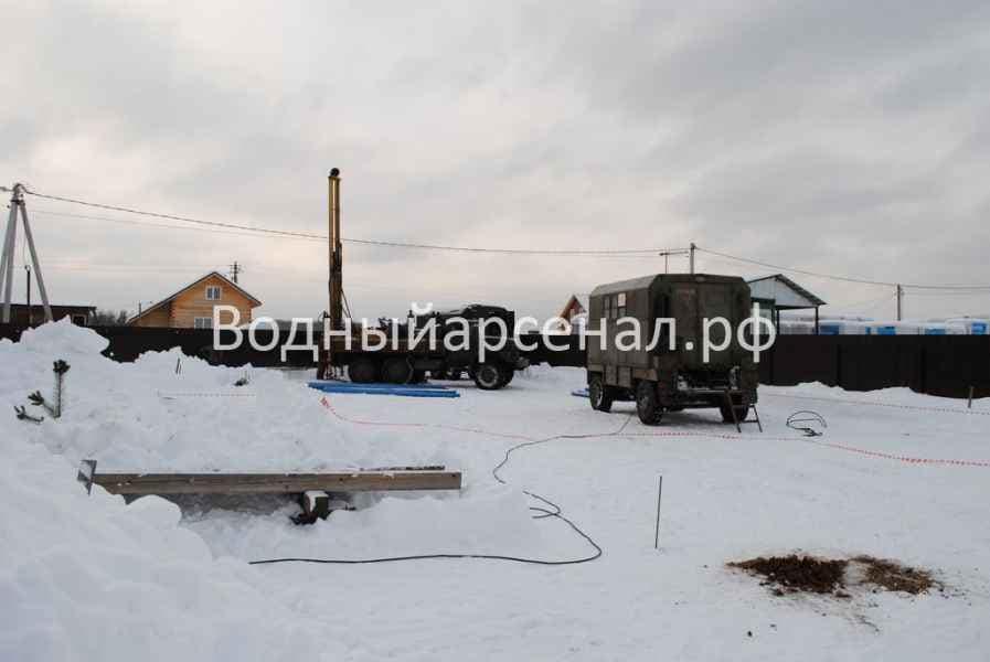 Бурение скважины в Можайском районе, коттеджный посёлок Захарьино-3 фото 2