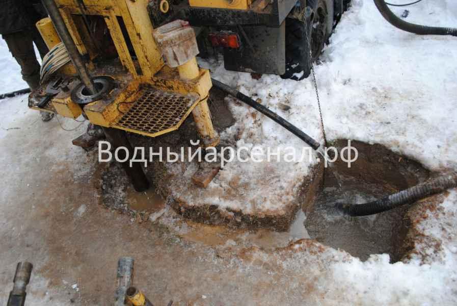 Бурение скважины в Можайском районе, коттеджный посёлок Захарьино-3 фото 3